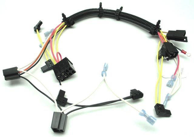 dash harness low to medium volume wire harness manufacturer Custom Automotive Wiring Harness Kits at bakdesigns.co
